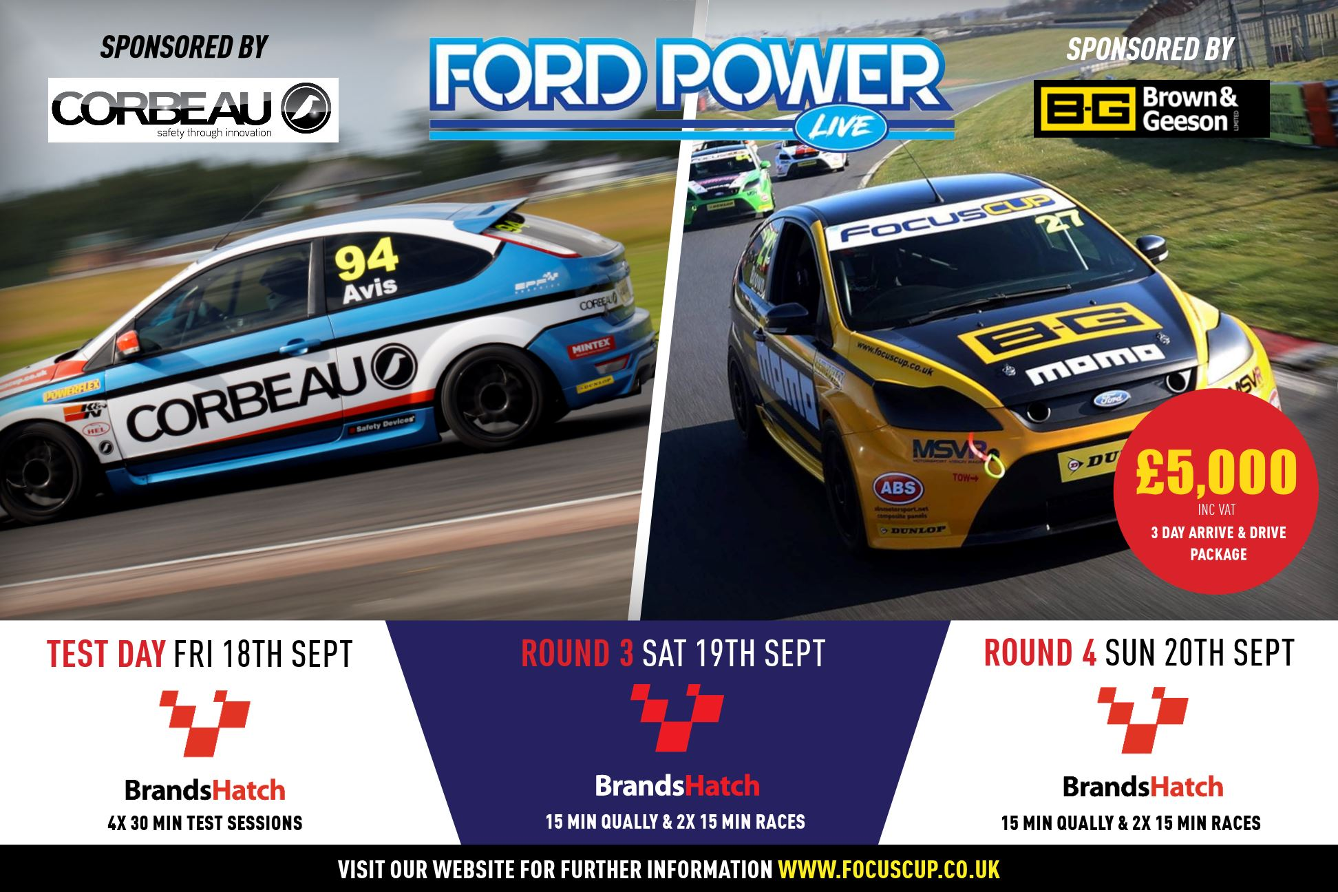 Ford Power Live Event Round 3 & 4